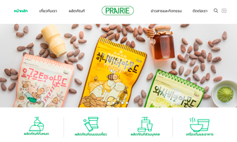 Prairie Marketing Website